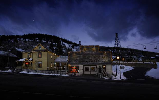 Park City's High West Distillery & Saloon is dubbed the world's only ski-in distillery and gastro-saloon.'