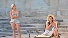 "A scene from ""Les Femmes savantes"" (Claire Matras)"