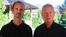 Arjuna Ardagh and Gay Hendricksare the founders of the 'Conscious Men' movement. (YouTube/YouTube)