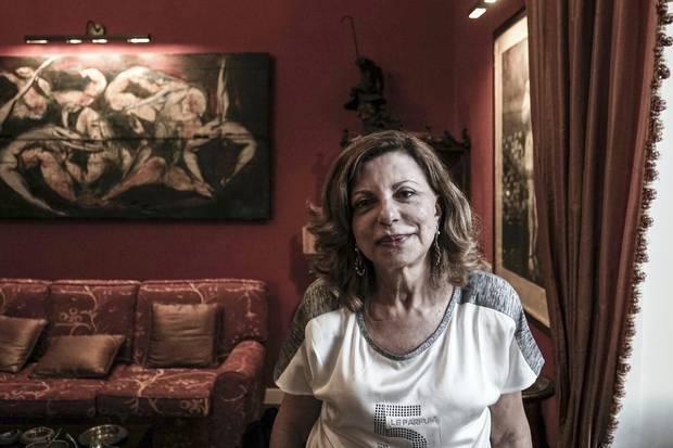 Mafia hunter Teresa Principato. Palermo, Italy