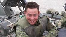 In this submitted photo, Cpl. Stuart Langridge is shown in Afghanistan. (Submitted photo)