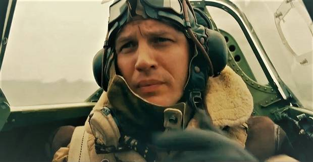 Tom Hardy stars in Christopher Nolan's Second World War film, Dunkirk.