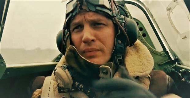 Tom Hardy stars in Christopher Nolan's Second World War film, Dunkirk.