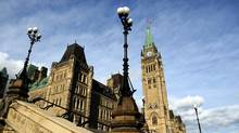Parliament Hill in Ottawa on Tuesday, October 18, 2011. (Sean Kilpatrick/Sean Kilpatrick/THE CANADIAN PRESS)