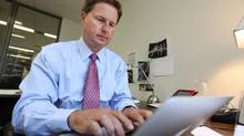 Samuel Duboc, founder of EdgeStone Capital Partners, will stop whatever he is doing to talk to young people involved with Pathways to Education. (Deborah Baic/The Globe and Mail)