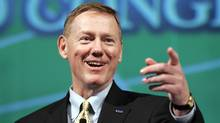 Ford CEO Alan Mulally's 2010 salary was $26.5-million. (REBECCA COOK/REUTERS)