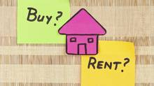 Should you buy or rent a home? (Fengyuan Chang/Getty Images/iStockphoto)