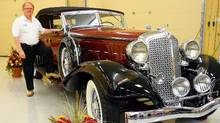 Vernon Smith with 1933 ChryslerImperial from his collection