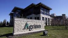 Argium's head office in Calgary. (Jeff McIntosh/The Canadian Press)