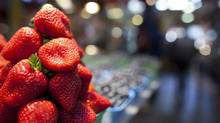Fresh strawberries gets top marks for their strikingly high antioxidant content. (JOHN LEHMANN/THE GLOBE AND MAIL)