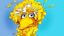 Big Bird (Anthony Jenkins/The Globe and Mail)