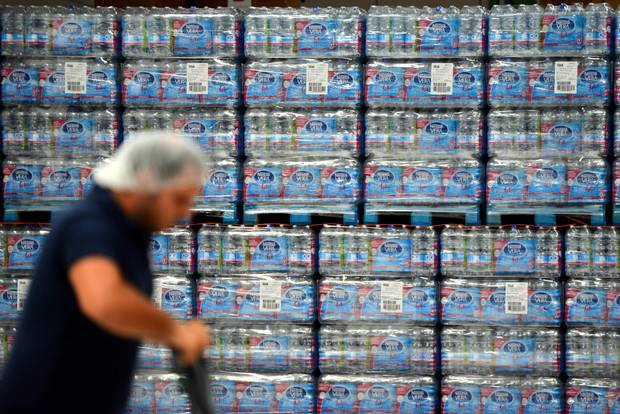 The Canadian bottled-water industry generates $2.5-billion in annual sales.