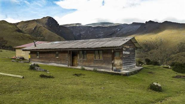 The Kanwara Huts (3976 metres elevation) offer a comfortable acclimatizing base en route to the peaks and glaciers of El Cocuy National Park in eastern Colombia. (Mark Sissons for The Globe and Mail)