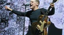 Bryan Adams performs at Rogers Arena in Vancouver on June 16, 2012. (Jeff Vinnick/Jeff Vinnick/The Globe and Mail)