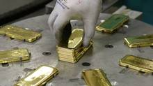 Gold surged in Europe Wednesday morning (ARND WIEGMANN/Arnd Weigmann/Reuters)