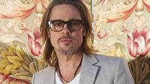 Brad Pitt is designing furniture. (Joel Ryan/AP)