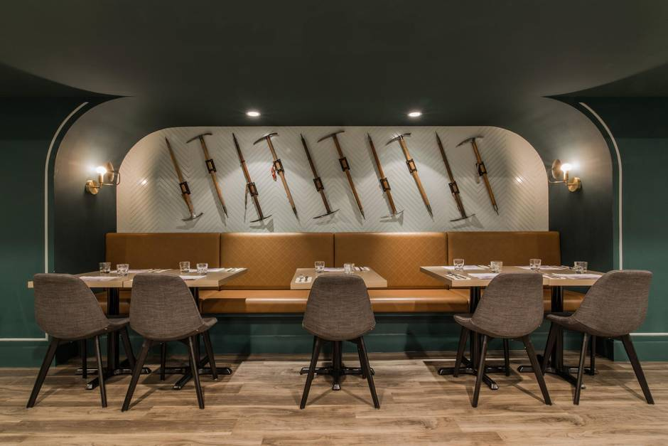 Recently Completed Alpine Social At Chateau Lake Louise Inspired By The Swiss Guides Who Founded Frank Architecture And Interiors