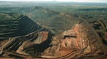 The BHP Billiton Mount Whaleback iron ore mine, in the Pilbara Region of Western Australia. (HANDOUT/REUTERS)