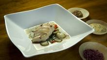 Poached chicken is flavourful, low-fat addition to chicken soups. (<252>Kevin Van Paassen/The Globe and Mail)