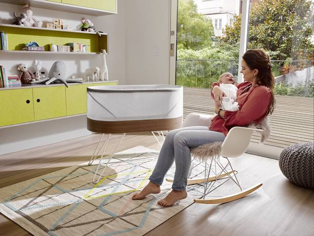 Happiest Baby, a company founded by renowned pediatrician and child development specialist, Dr. Harvey Karp, is launching SNOO, the world's smartest – and safest – baby bed.