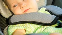 Who could forget about a child strapped inside a car? (istockphoto)