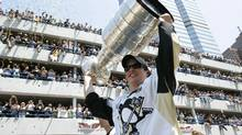 Penguins captain Sidney Crosby is bringing the Stanley Cup to Cole Harbour, N.S., next month. (JASON COHN/Reuters)
