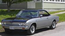 Eric Nielsen bought his 1966 Chervolet Corvair coupe in 1974 for $125.
