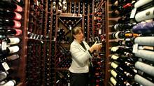 The wine cellar at Le Spiga, a fine dining restaurant in Coachella Valley, California owned and operated by Vince and Connie Cultraro of Edmonton. (Handout)