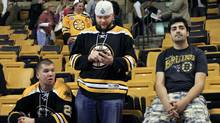 Boston Bruins fans react to team's Game 7 loss to Washington Capitals