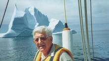 Alec Henley, seen sailing in 1998, was a staunch supporter of the Royal St. John's Regatta.