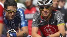 Seven-time Tour de France winner Lance Armstrong. (ANTHONY BOLANTE/REUTERS)