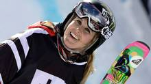 March 18, 2011: Sarah Burke wins her fifth Winter X-Games gold medal in Tignes, France. (Icon SMI)