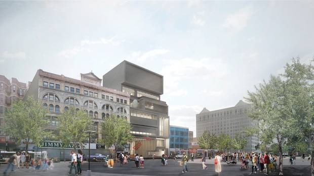 A remodelling of the Studio Museum in New York's Harlem neighbourhood.