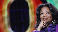 Oprah Winfrey attends a panel during the Oprah Winfrey Network (OWN) Television Critics Association winter press tour in Pasadena, California January 6, 2011. (MARIO ANZUONI/REUTERS/Mario Anzuoni)