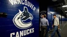 Vancouver Canucks' goalie Roberto Luongo (DARRYL DYCK/The Canadian Press)