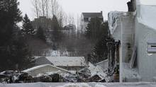 A look at the senior residence home in L'Isle-Verte, Que., on Saturday, Jan. 25. (Christinne Muschi/The Globe and Mail)