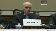 John C. Beale pretended to work for the Central Intelligence Agency. (C-Span screen shot)
