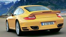 2010 Porsche 911 Turbo: The base on my tester is $165,300, but the final car came in at $192,585, including freight. (Stefan Warter)