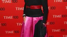 Barbara Walters arrives at the Time 100 gala celebrating the magazine's naming of the 100 most influential people in the world for the past year in New York April 29, 2014. (LUCAS JACKSON/REUTERS)