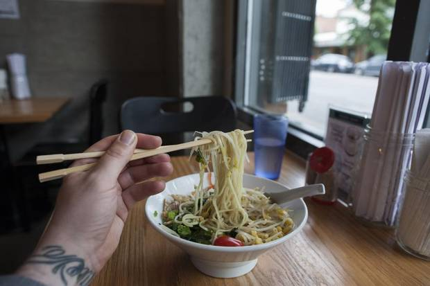 The Ramen Butcher in Vancouver's Chinatown.
