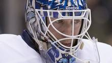 Toronto Maple Leafs goaltender Jean-Sebastien Giguere.THE CANADIAN PRESS/Chris Young (Chris Young)