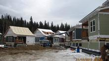 HD Mining's housing development under construction in Tumbler Ridge, B.C., on Dec. 11, 2012. (HD Mining)