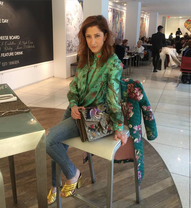SNAP HAPPY: Holt Renfrew's Marlo Sutton uses Instagram to show clientele how to style outfits. Her clients also use social media as a way to keep lists of what they'd like to see in store.