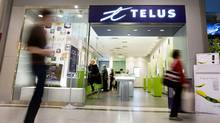 The Telus store in Toronto's Eaton's Centre is seen on October 27, 2009. JENNIFER ROBERTS FOR THE GLOBE AND MAIL (JENNIFER ROBERTS For The Globe and Mail)