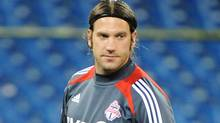 Torsten Frings of the Toronto FC is seen during practice at the Rogers Centre in Toronto, Ont. March 6/2012. (Kevin Van Paassen/The Globe and Mail)