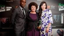 Canadian filmmaker Ruba Nadda in Toronto. (Grolsch)