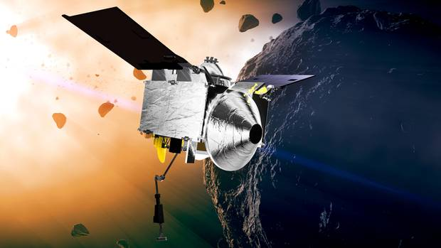 The OSIRIS REx probe is expected to reach the asteroid in 2018.