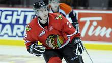 Troy Rutkowski of the Portland Winterhawks. (AARON BELL/CHL Images)