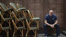 Hugh Dillon said he had to leave the Headstones 11 years ago because each time they would tour he would relapse. (Fred Lum/The Globe and Mail)
