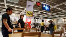 NEW YORK - AUGUST 14: People shop at an Ikea home furnishing store August 14, 2008 in the Brooklyn borough of New York City. (Spencer Platt/Getty Images)